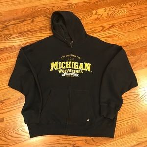 University of Michigan, U-M, Hoodie